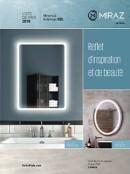 Catalogue de miroirs à éclairage DEL | Kalia