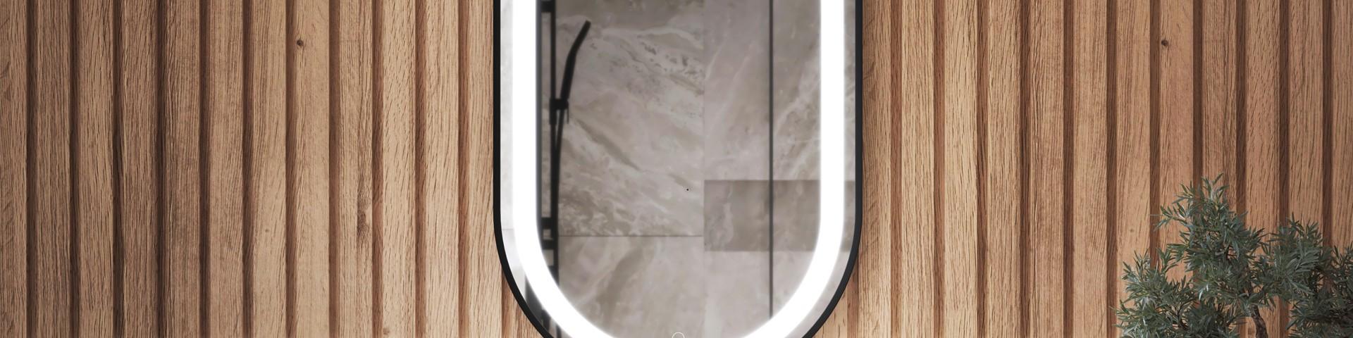 Miroirs de forme oblongue