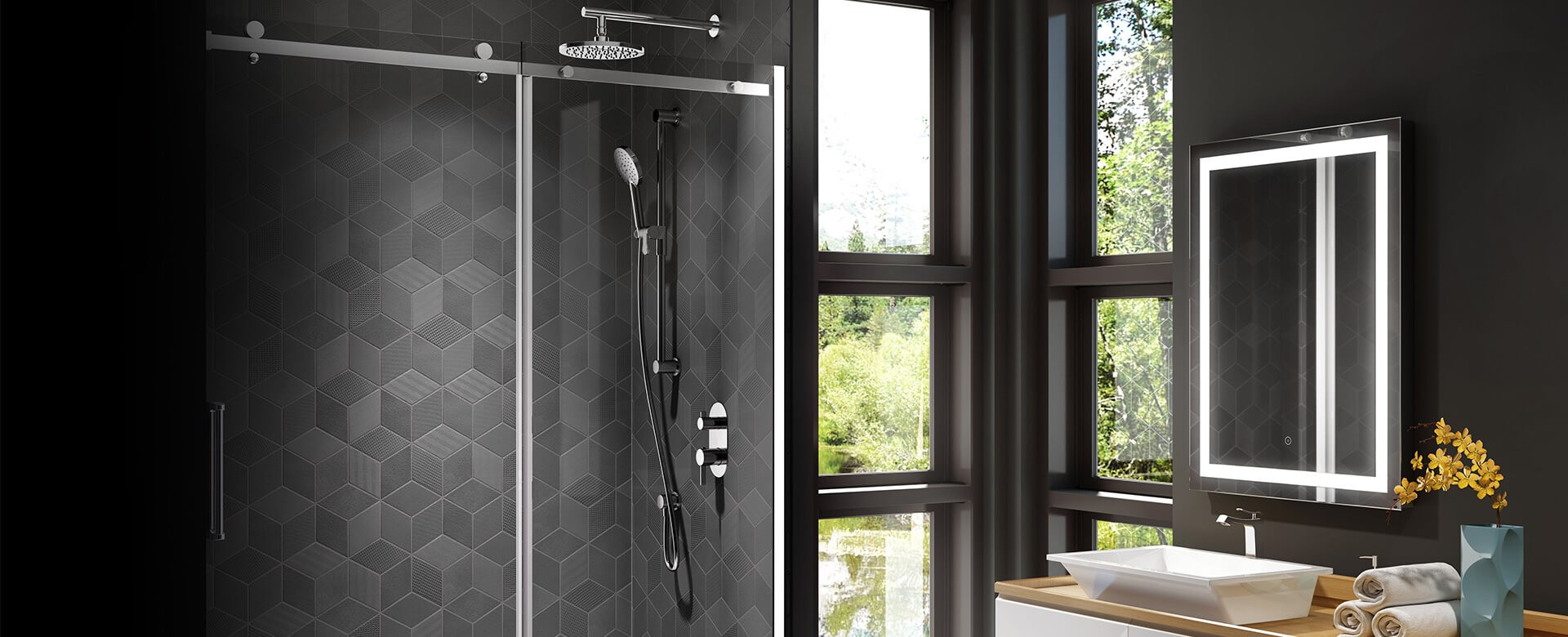 COLLECTION: PORTES DE DOUCHE ROLLAX