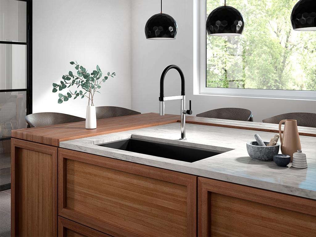 Salle de bains, cuisine, robinetterie, design unique | Kalia